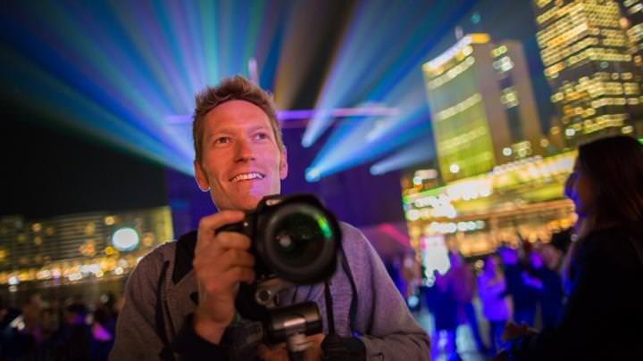 Vivid Sydney Workshop - photographer portrait