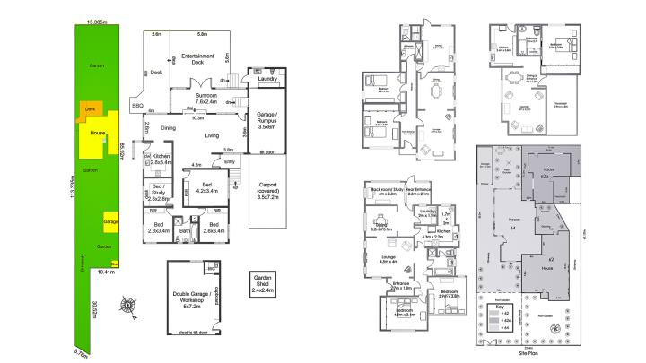 Planning for success - floor and site plans