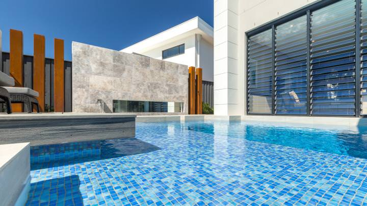 Designer pools - a delight to photograph