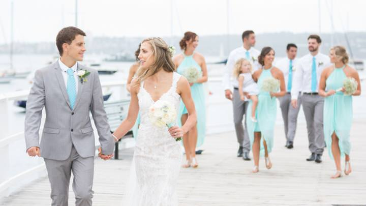 Balmoral Beach - Casually formal - bridal party